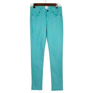 Rich & Skinny Teal Green Denim Soft Stretch Jeans